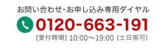 TEL :0120-663-191